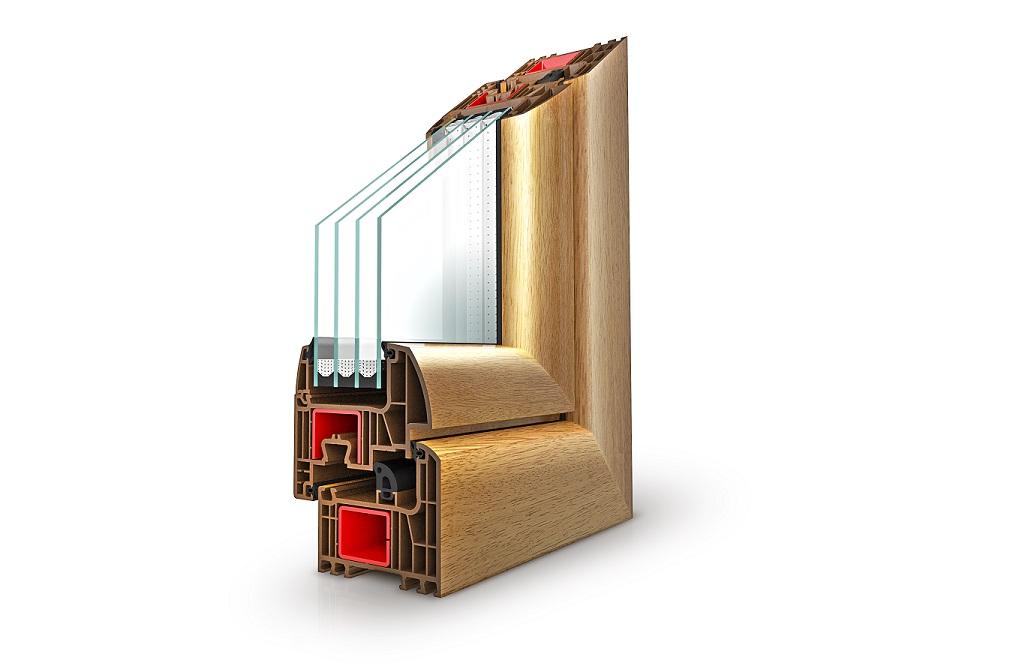 Perfil de ventana de PVC