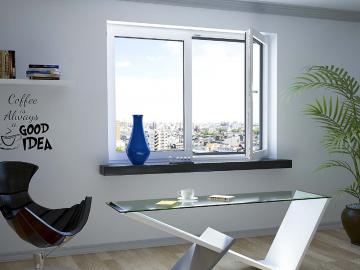 Gases del doble acristalamiento en ventanas de PVC