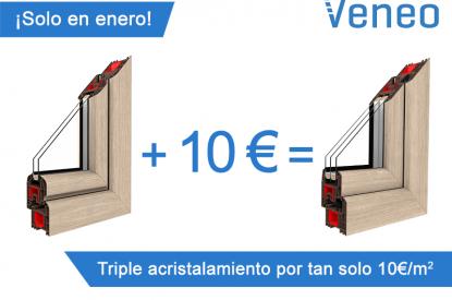 Triple acristalamiento a un precio económico