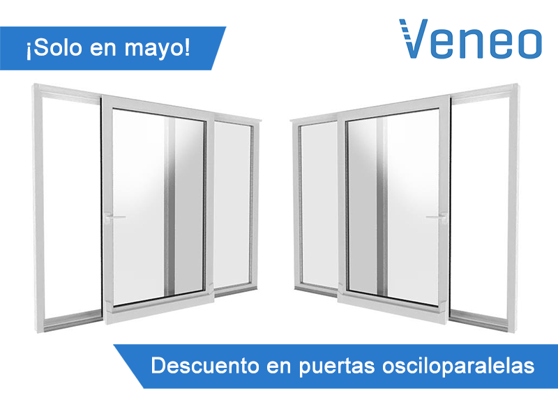 Mailing mayo veneo ventanas de pvc for Puertas osciloparalelas